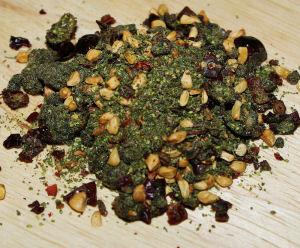 šípky + kopřivová semínka